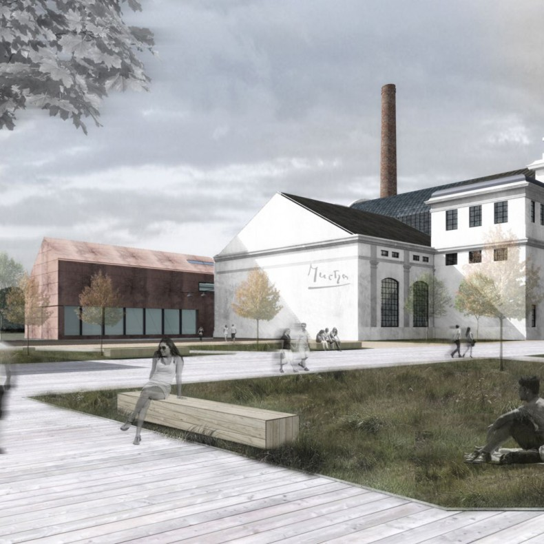 Konverze bývalé elektrárny v Holešovicích