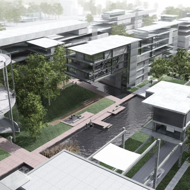 Urbanistická studie Holešovice - sever